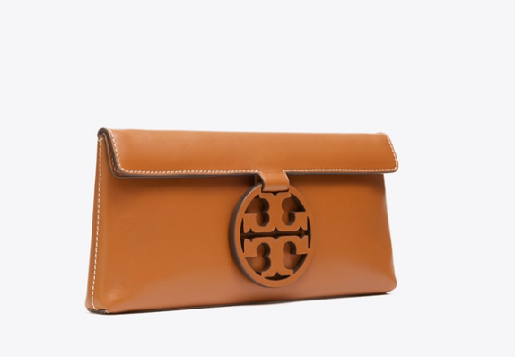 TB Miller Clutch: Aged Camello
