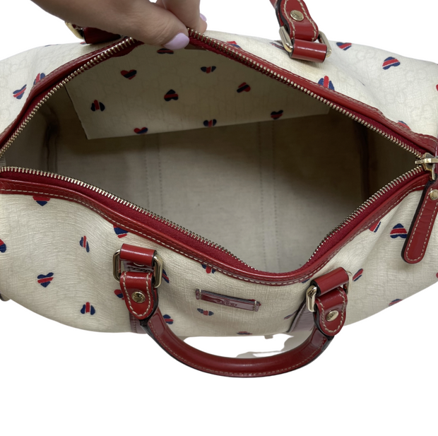 Gucci Joy Heart Supreme Boston Bag