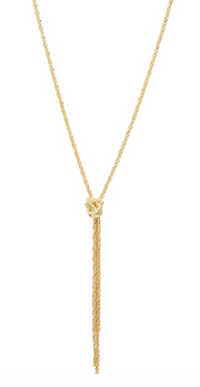 Gorjana Fiore Knot Necklace
