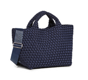 Naghedi St. Barths Mini Tote - Ink Blue