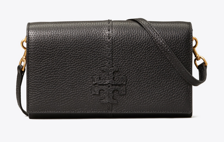 Tory Burch McGraw Wallet Crossbody - Black