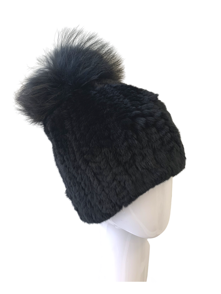 Linda Richards Rex Pom Hat- 2 Colors