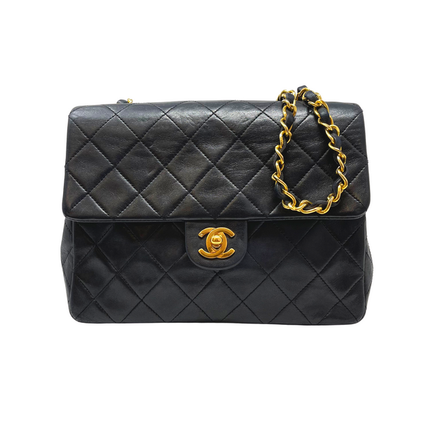 Chanel Lambskin Classic Mini Single Flap
