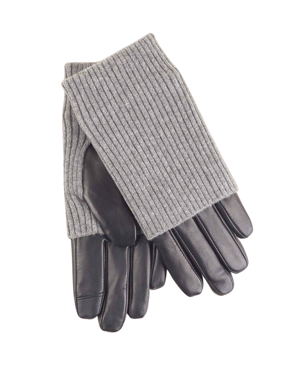 ECHO FOLD DOWN CUFF GLOVE- Grey
