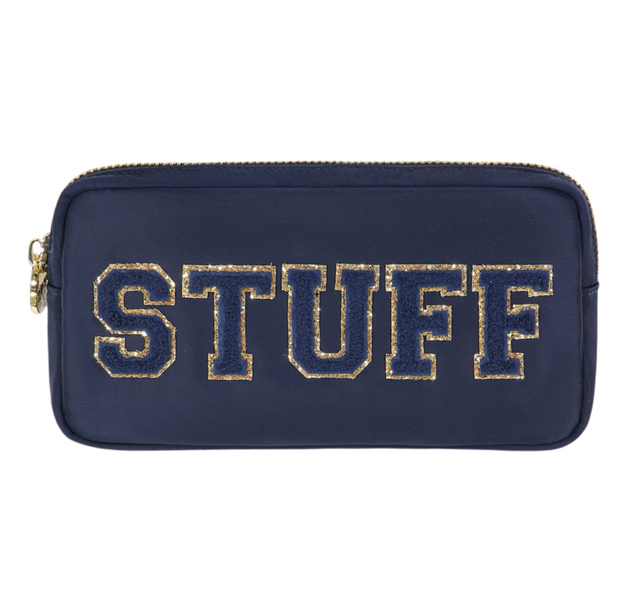 Stoney Clover Small Pouch - Stuff (Sapphire)