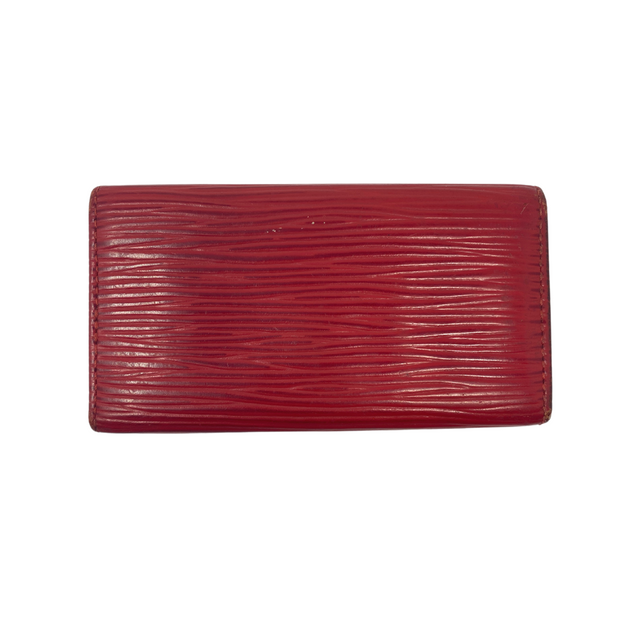 Louis Vuitton Red Epi Leather Key Holder