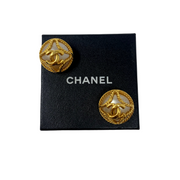 Chanel Pearl Clip-On Earrings