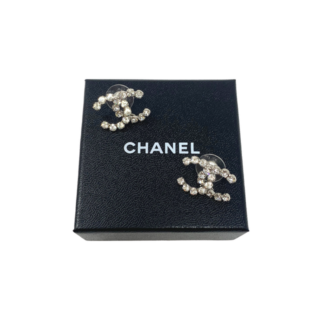Chanel Crystal Earrings