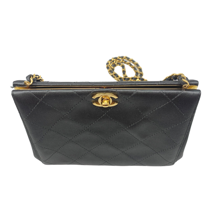 Chanel Satin Evening Bag