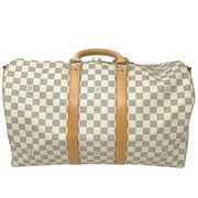 Louis Vuitton Damier Azur Keepall Bandouliere 45
