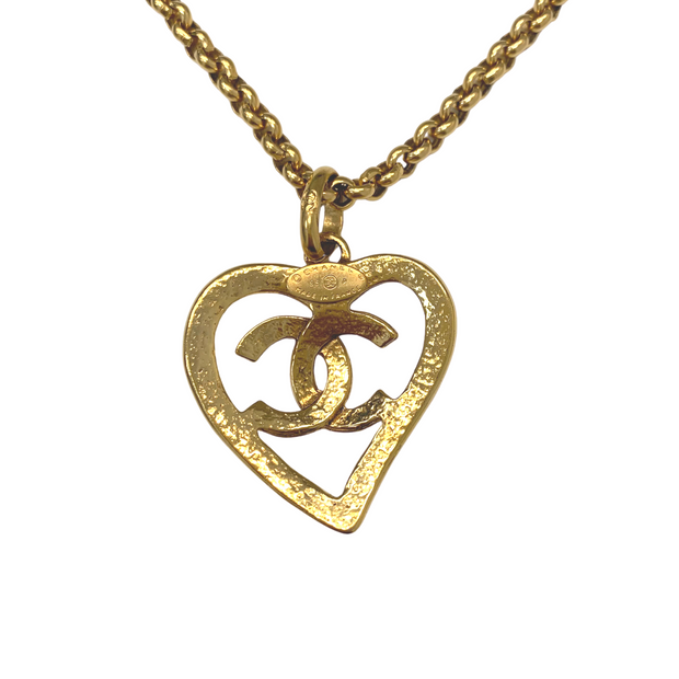 Chanel Heart Necklace