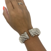 David Yurman Silver Cable Classic Cuff