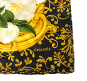 Chanel Scarf - Ivory/Gold