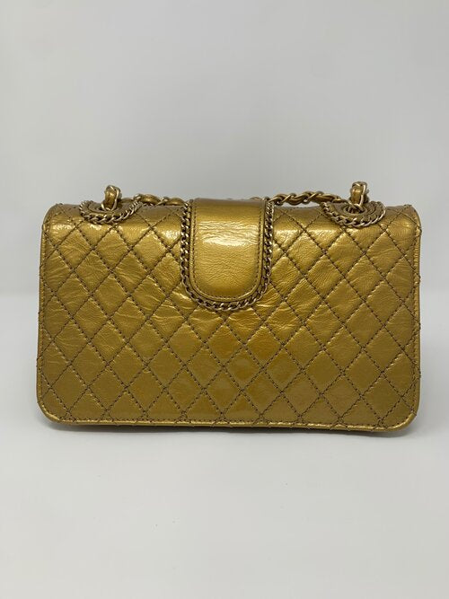 Chanel Gold Madison Flap Bag