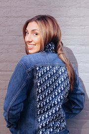 Luxury Repurposed Denim Jacket