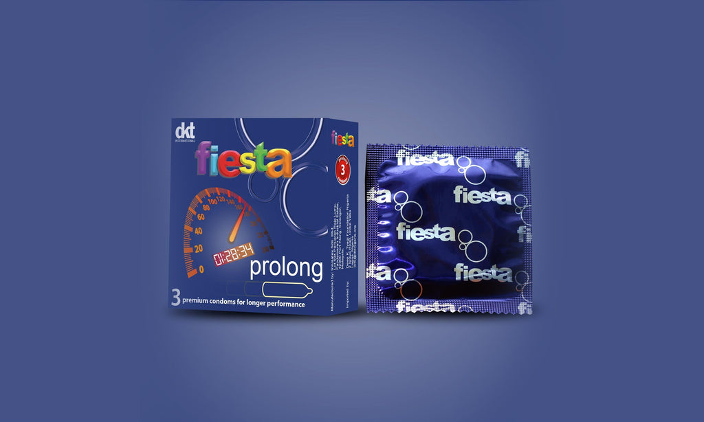 Fiesta prolong condom