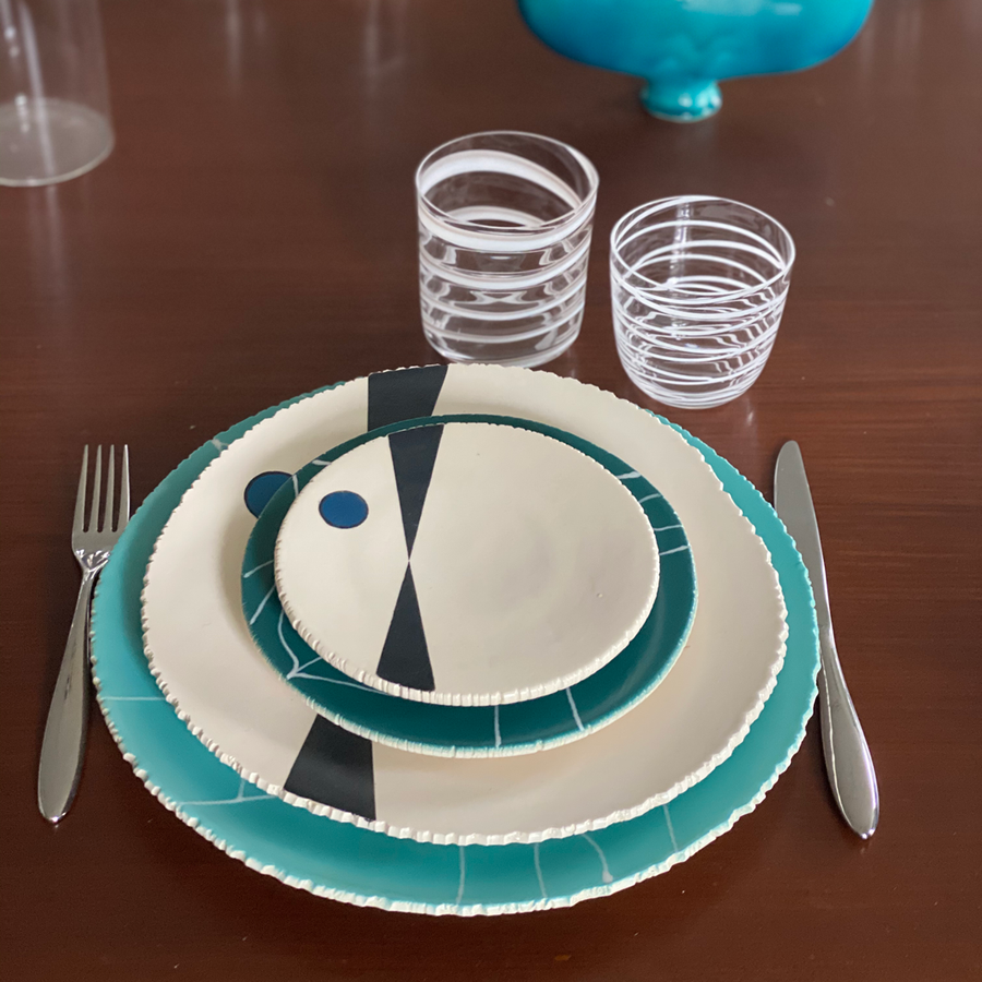 Agnes Sandahl | Four Piece Table Setting