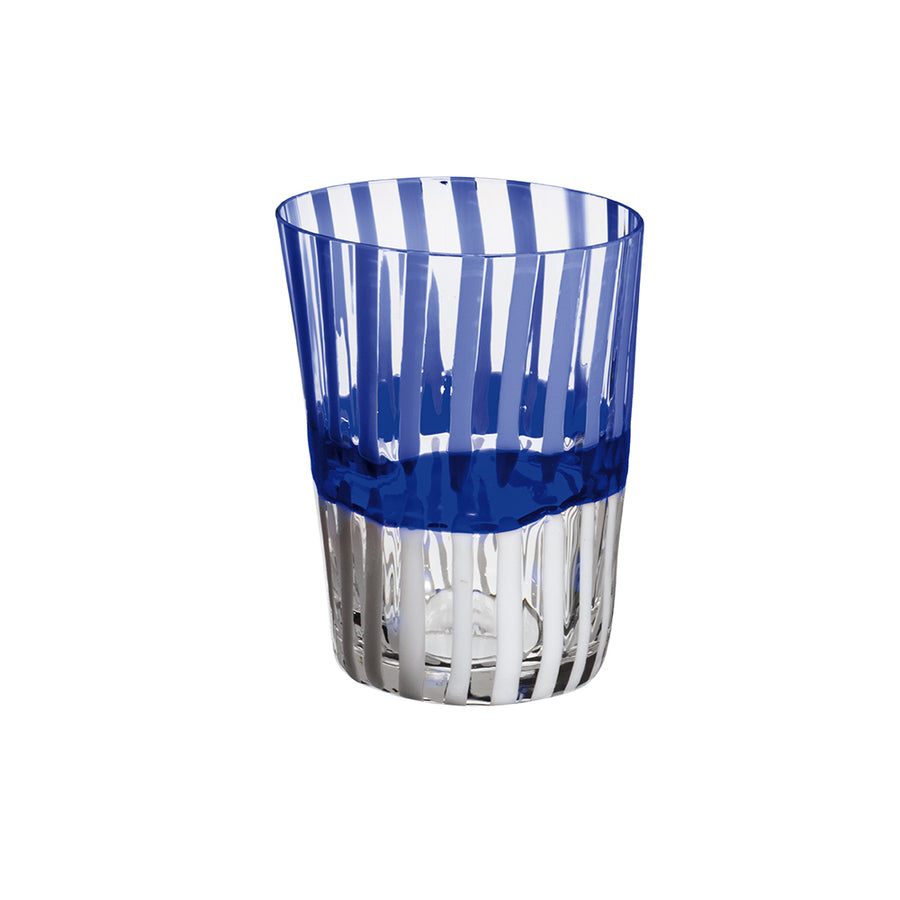 Carlo Moretti | Bora Drink Glass (Blue/White)