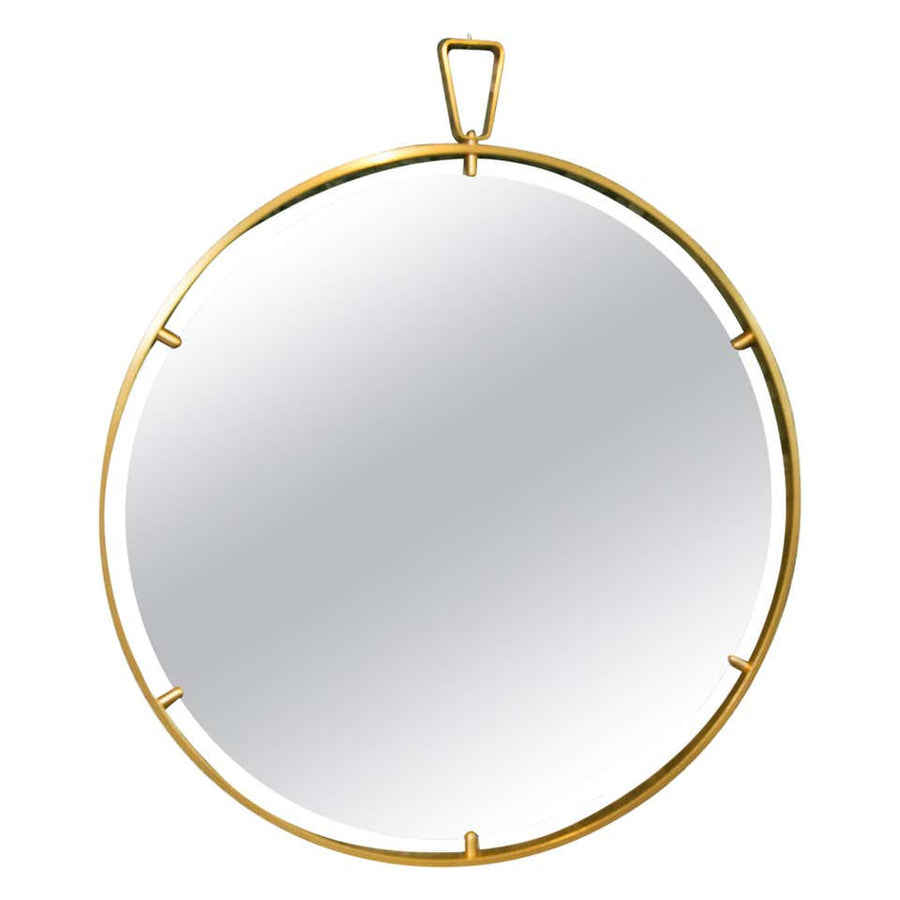 Leclaireur | Large Round Mirror by Ghidini 1961