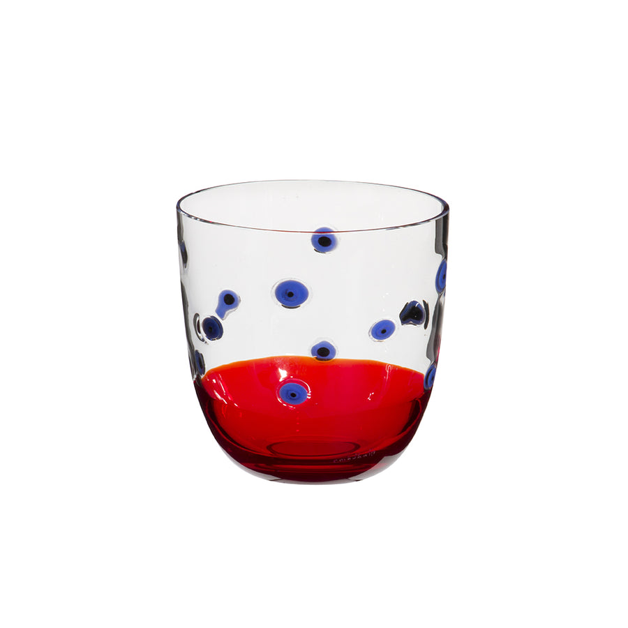Carlo Moretti | I Diversi Drink Glass (Purple/Red)
