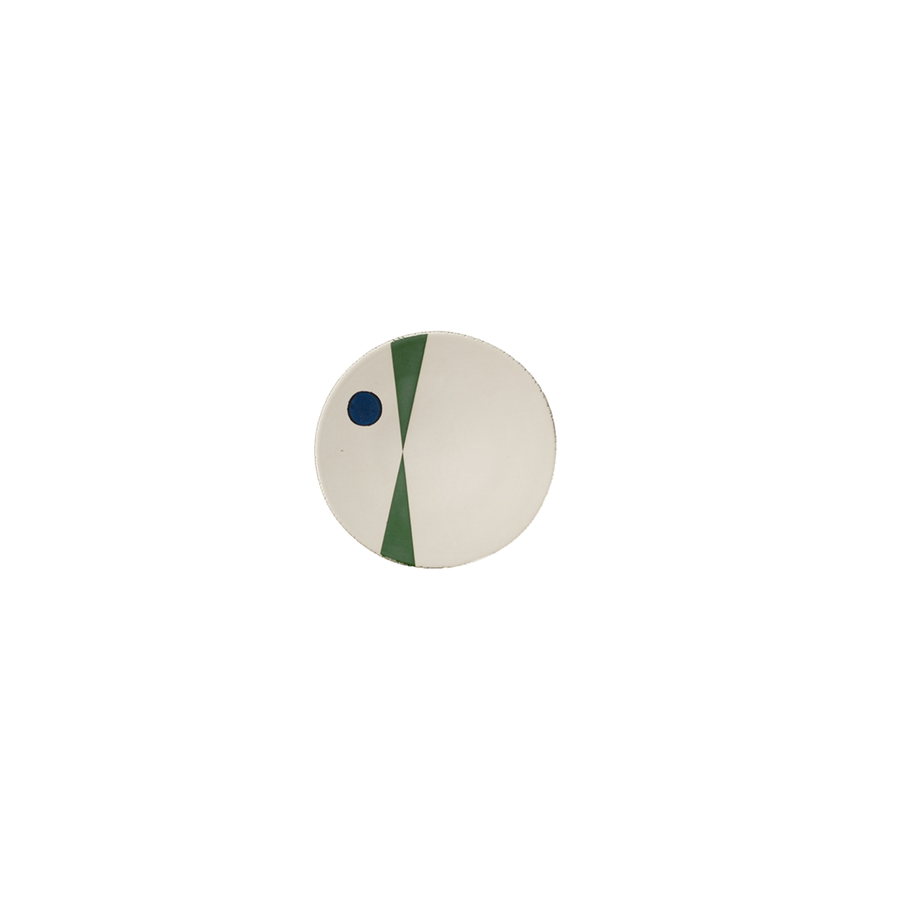 Agnes Sandahl | Mikado Bread Plate in Blue/Green