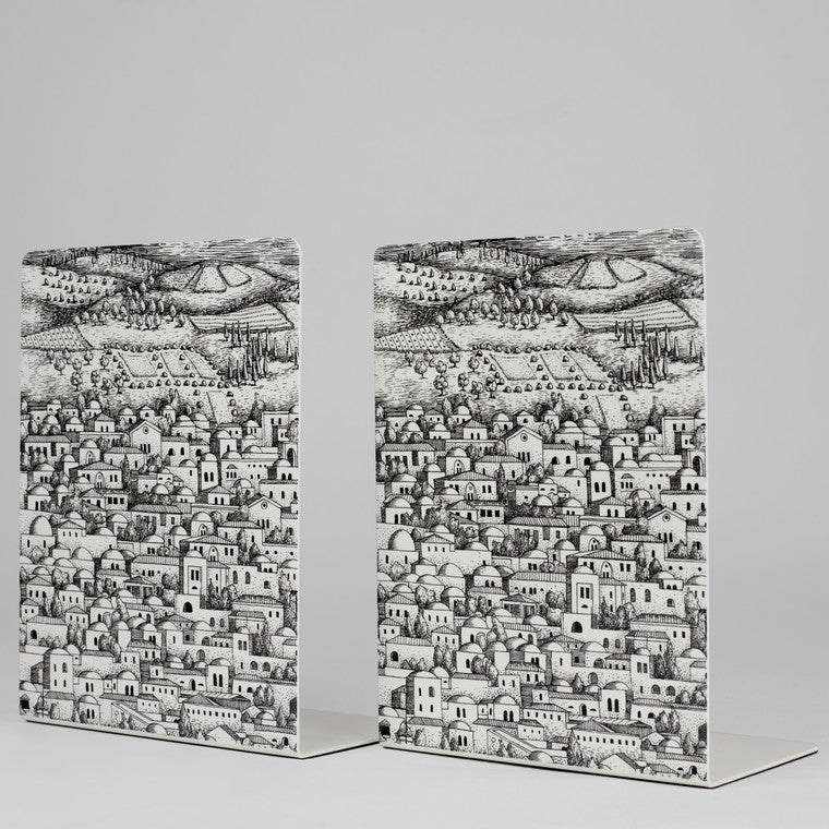 Fornasetti | Gerusalemme Bookends