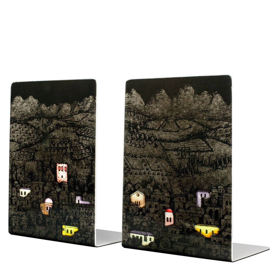 Fornasetti | Gerusalemme di Notte Bookends