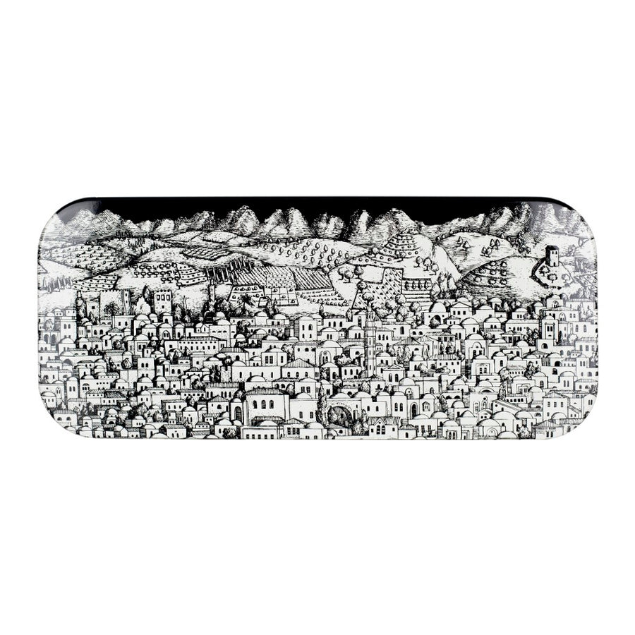 Fornasetti | Gerusalemme Small Tray (Black)