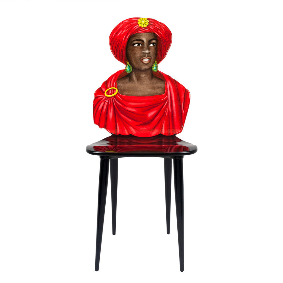 Fornasetti | Moro Chair (Red)