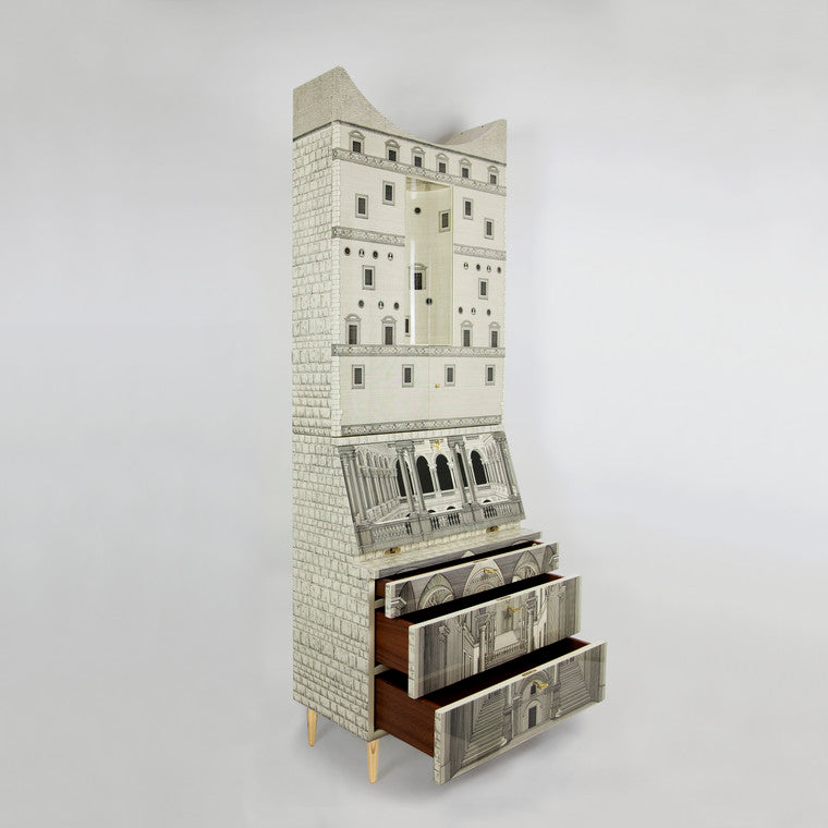 Fornasetti | Architettura Trumeau (Curved Top)