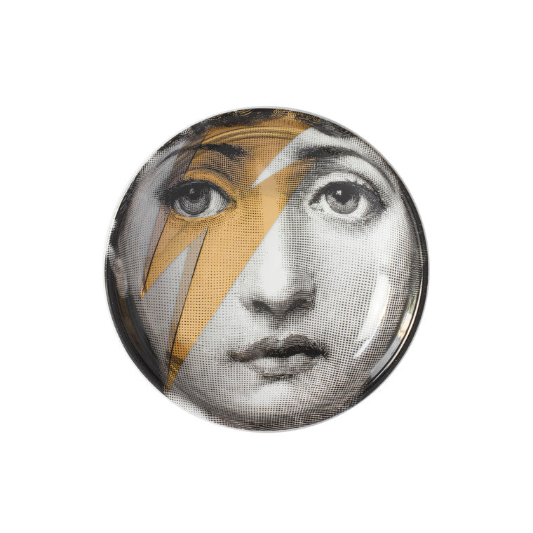 Fornasetti | Tema E Variazioni No. 375 Ashtray (Gold)