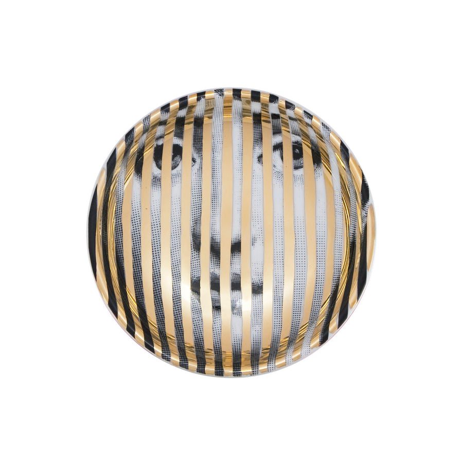 Fornasetti | Tema E Variazioni No. 34 Ashtray (Gold)