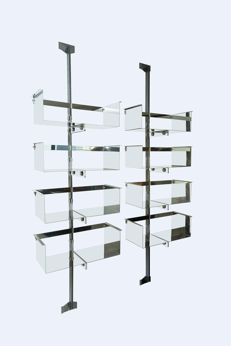 Vittorio Introini | Pair of Adjustable Library Systems