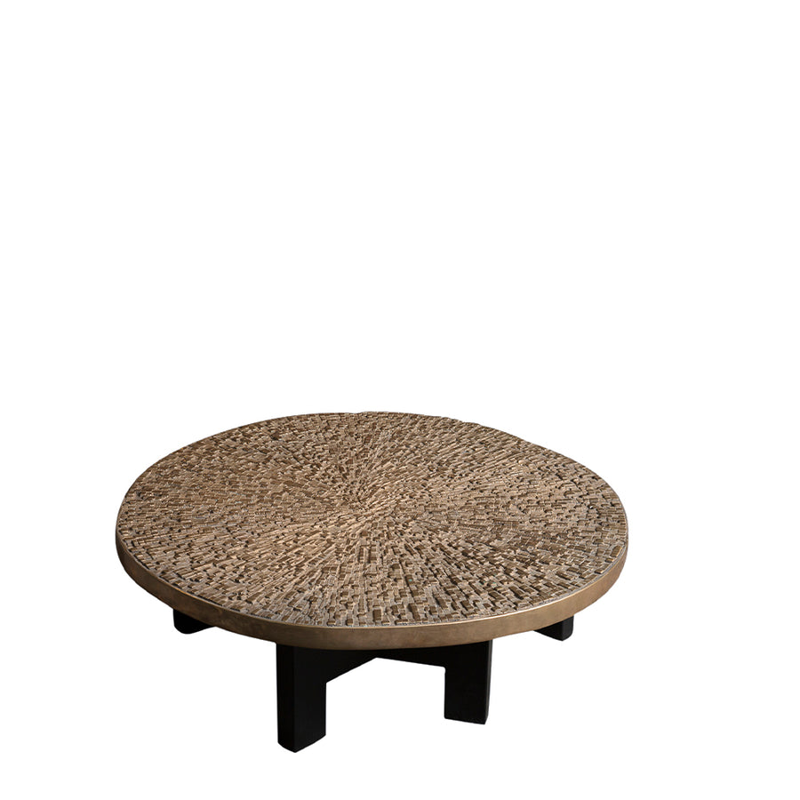 Ado Chale | Relief d'agate polie Table