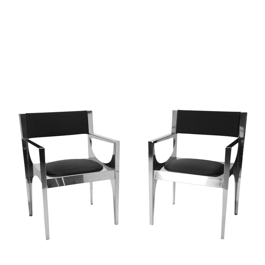 Philippe Hiquily| Pair of Office Chairs