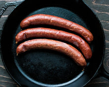 Load image into Gallery viewer, Smoked Wagyu Bratwurst