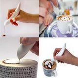 Electric Spice Pen for Coffee & Food Art