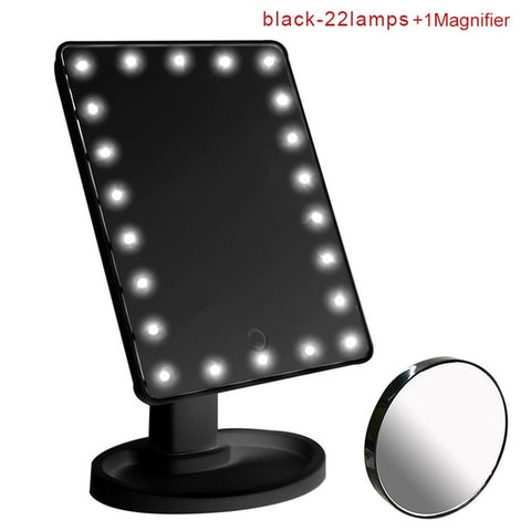 22/16 LEDs Lighted Makeup Mirror