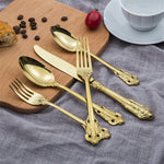 Luxury Cutlery Set 5 pcs
