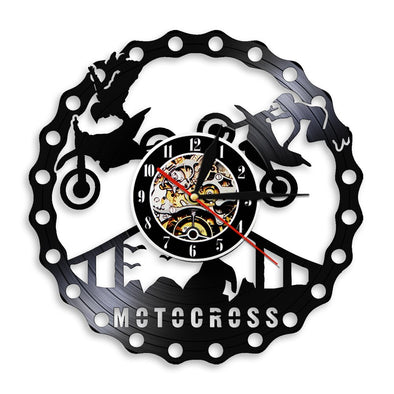 Horloge Murale Moto Cross 152805 Motard Passion