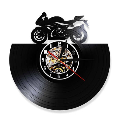 Horloge Murale Moto Racing - motardpassion
