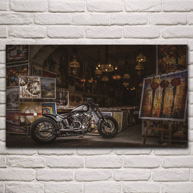 Tableau Moto Art - Motard Passion