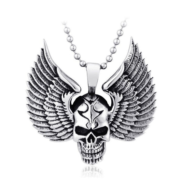 Collier Ange Des Enfers - Motard Passion