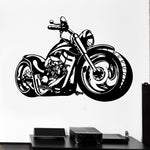Sticker Mural Moto Custom - motardpassion