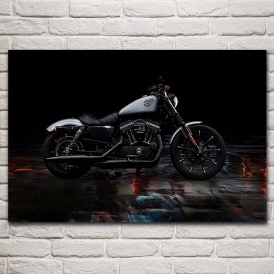 Tableau Harley 883 - Motard Passion