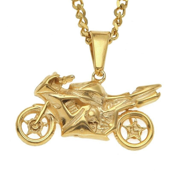 Collier Moto Sportive  Motard Passion