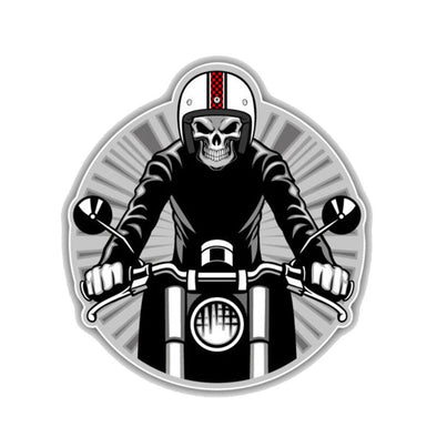 Sticker Motard Des Enfers  Motard Passion