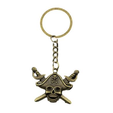 Porte Clé Pirate Skull - Motard Passion