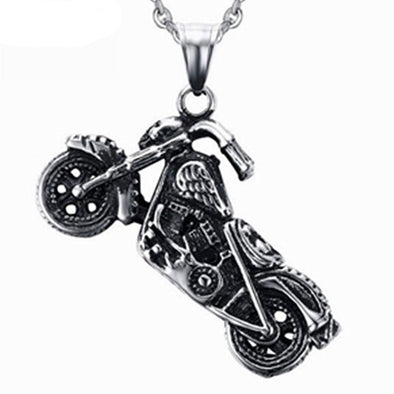 Collier Moto Vintage  Motard Passion
