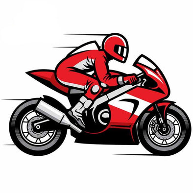 Sticker Moto Sportive  Motard Passion